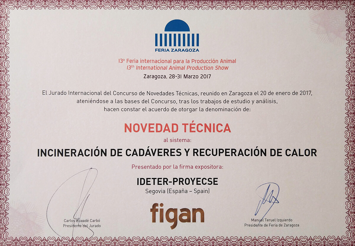 Innovation Award FIGAN 2017